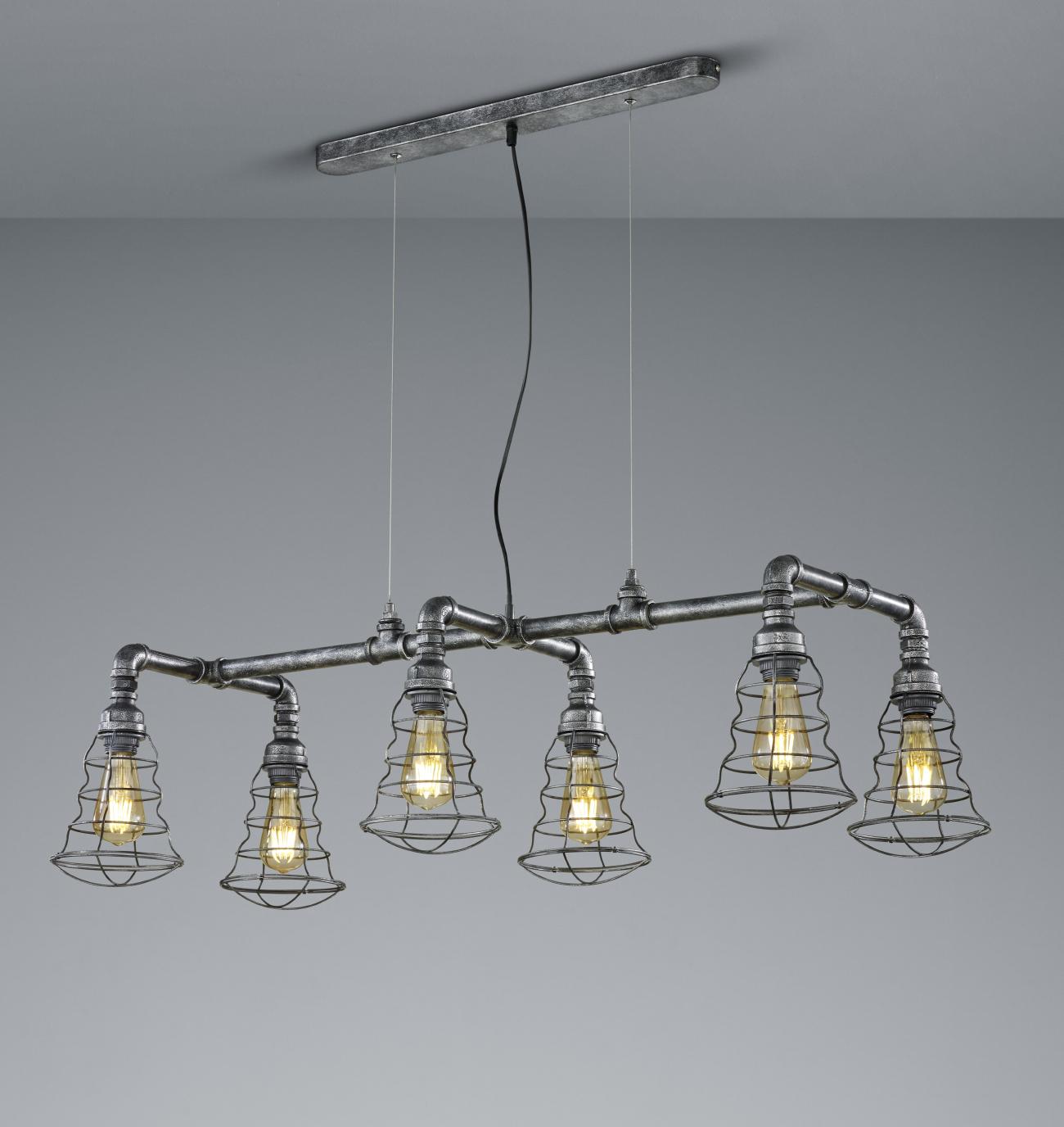 Angus Industrial Wall Light: Steampunk Lighting
